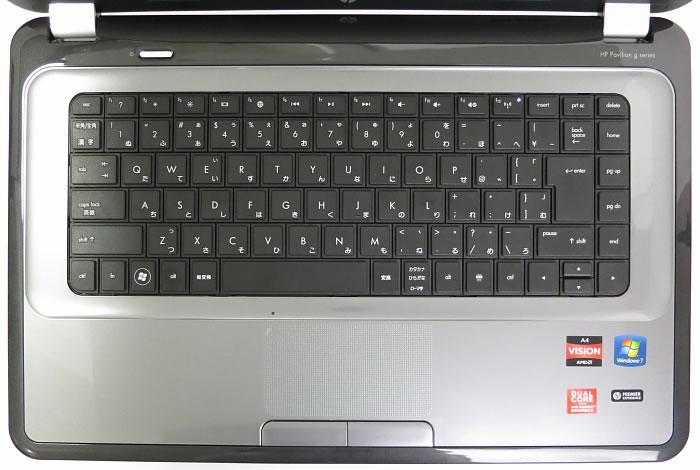 デフォルトでは使いづらい、HPのノートPC ...